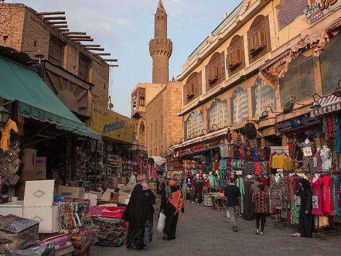 Khu chợ Khan Khalili Bazar